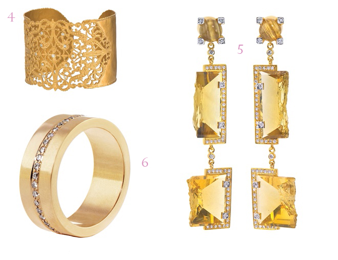 Bridal Jewelry: Go For The Gold
