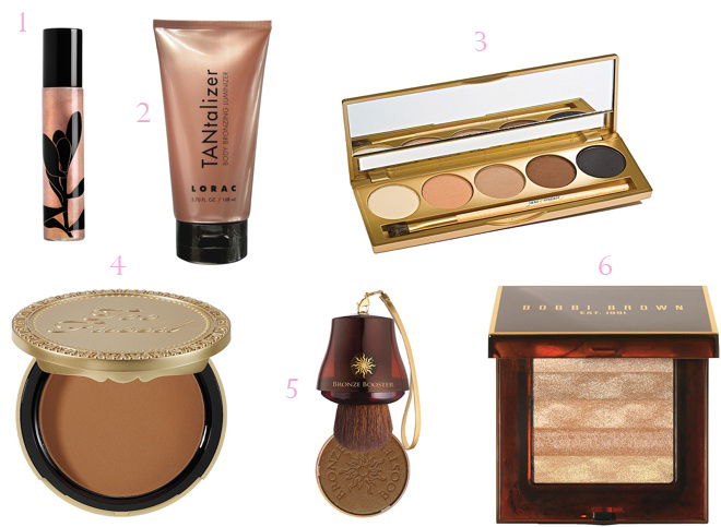 Bridal Beauty: Golden Goddess