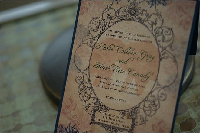 Vintage-Inspired Galveston Wedding