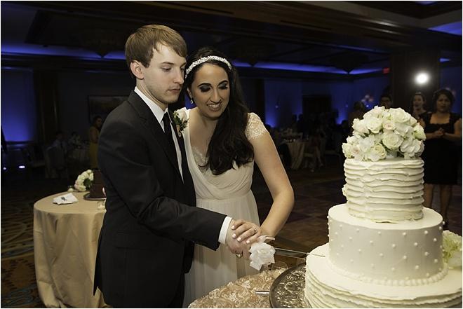Blush, White & Gold Wedding by D. Jones Photography