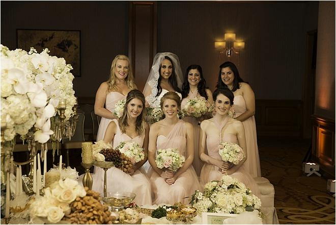 Blush, White & Gold Wedding by D. Jones Photography