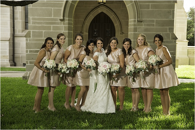 Blush, Ivory, Gold & Sage Wedding by D. Jones Photography