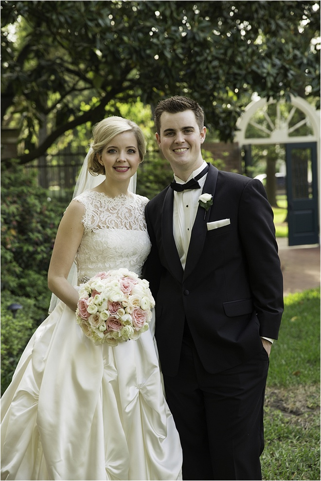 Ivory, Pink & Gold Wedding by D. Jones Photography