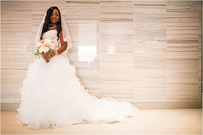 Chic Ivory, Gold & Blush Wedding at The Houston Club by Civic Photos