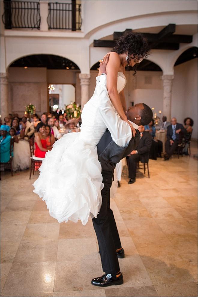 Fuchsia, Green & Orange Wedding at The Bell Tower on 34th Street