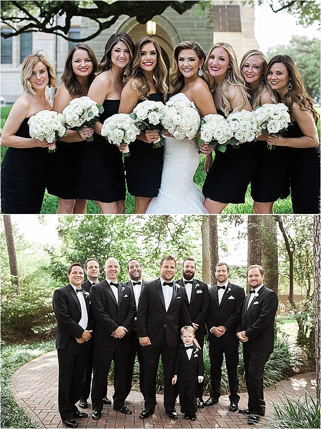 Metallic Wedding at The Houstonian by Akil Bennett Photographer