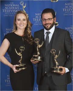 Congrats on THREE EMMYs, Sculpting With Time Productions!
