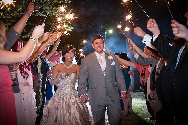 Black & Pink Wedding at Heather's Glen