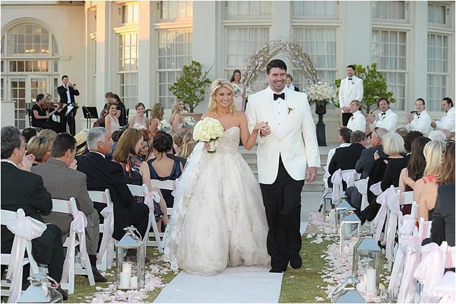 Blush & Champagne Wedding at Hotel Galvez