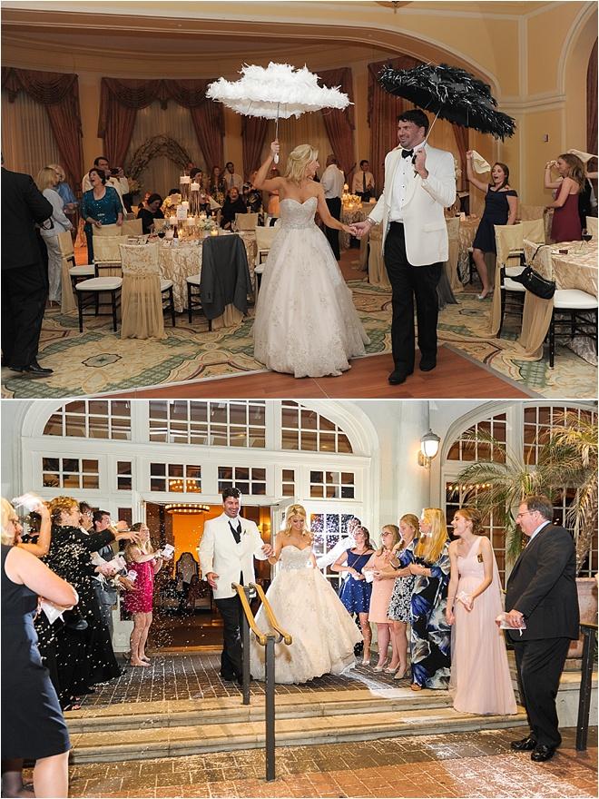 Blush Amp Champagne Wedding At Hotel Galvez Houston