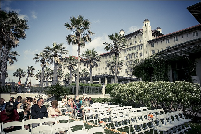 Romantic Garden Wedding at Hotel Galvez
