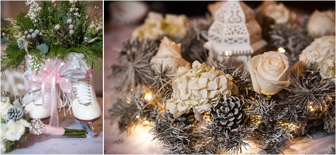 Winter Theme Wedding at Heather's Glen