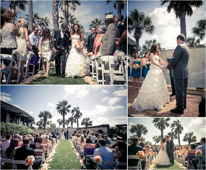 Romantic Garden Wedding at Hotel Galvez