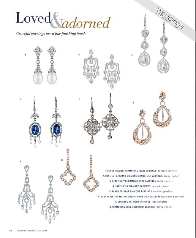 2016 Bridal Jewelry Trend: Chandelier Earrings
