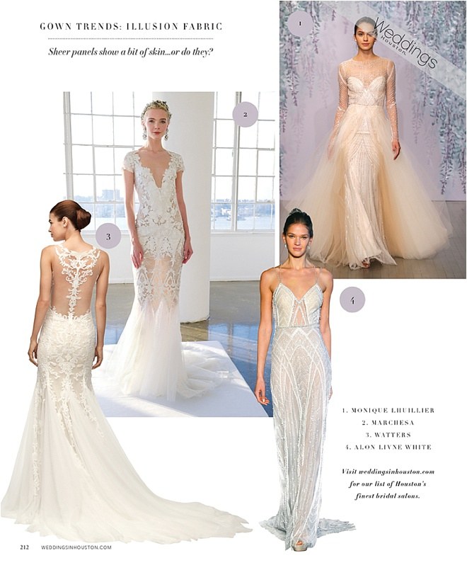 2016 Gown Trend: Illusion Fabric