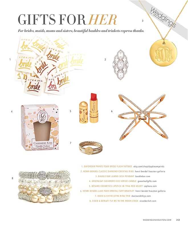 Editor's Picks: Gifts For Her