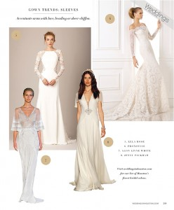 2016 Gown Trends: Florals & Sleeves
