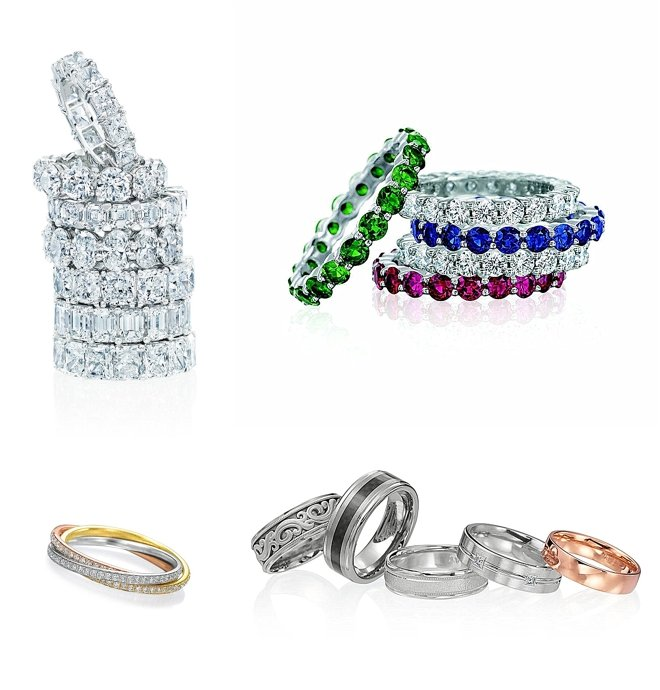 Wedding Bands Galore at Zadok Jewelers!