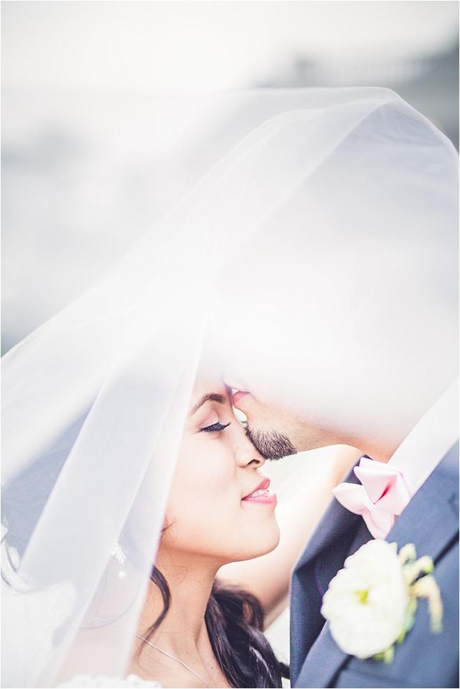 Blush, Ivory & Gold Wedding at Chateau Polonez by Ama Photography & Cinema