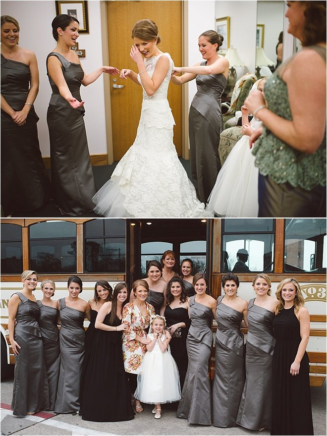 Blush, Champagne & Gray Wedding by J. Cogliandro Photography