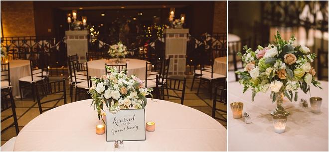 Blush, Champagne & Gray Wedding by J. Cogliandro Photography