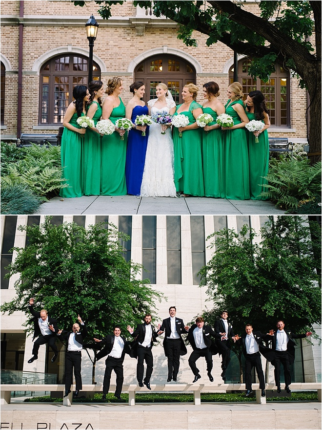 Royal Blue, Green, Purple & Silver Wedding by Adam Nyholt ...