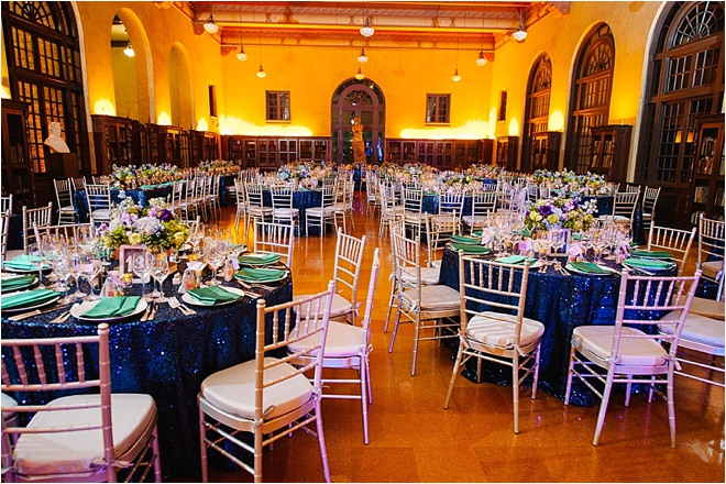 Royal Blue, Green, Purple & Silver Wedding by Adam Nyholt Photographer