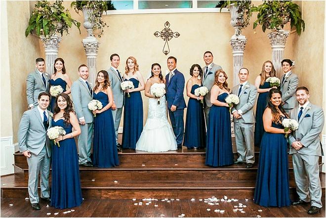 Navy & Gold Wedding at Ashelynn Manor