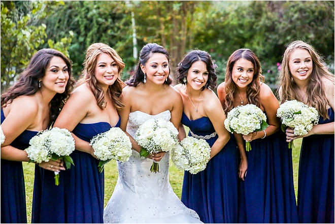 Navy & Gold Wedding at Ashelynn Manor