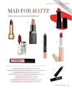 Matte Lips for Brides, Bridesmaids and More