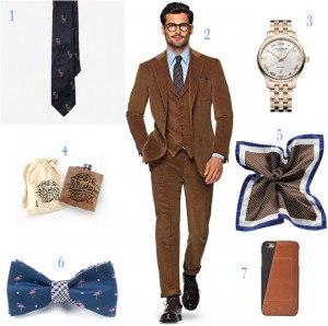 7 Items Every Dapper Groom Needs
