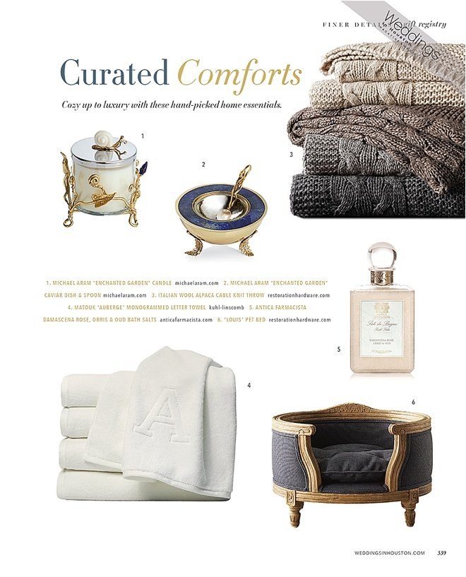 Curated Comforts