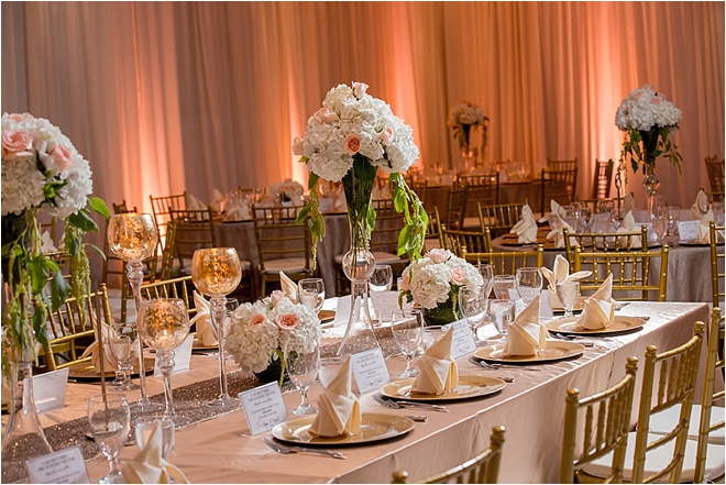 Champagne, Blush & Gold Wedding at The Bougainvilleas by Aventography