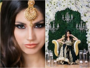 South Asian Bridal Fashion Shoot at Chateau Polonez by Aventography