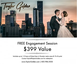 Buy I Do! Soiree Tix & WIN a $400 Engagement Shoot with Taylor Golden Photography