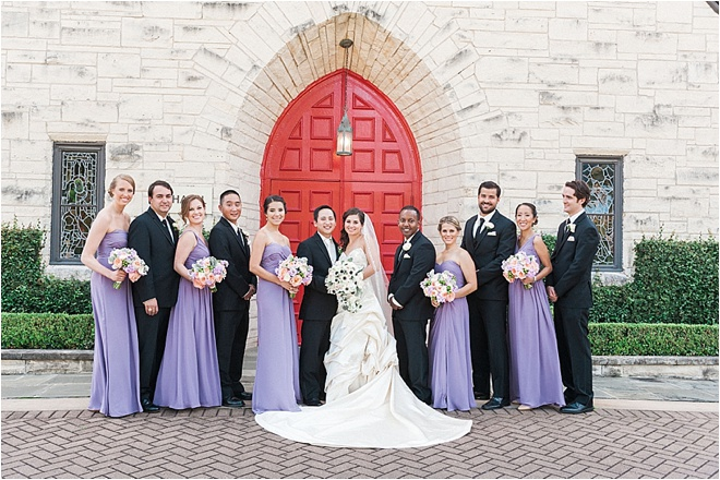 Lavender & Peach Wedding by Christa Elyce Photography