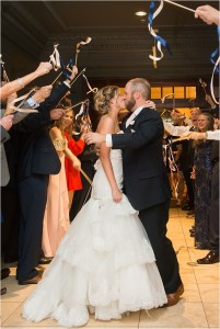 Blush, Navy & Gold Wedding at Crystal Ballroom at The Rice by MD Turner Photography