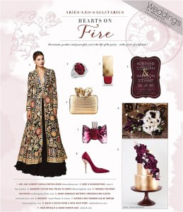Zodiac Style: Wedding Ideas for Fire Sign Brides