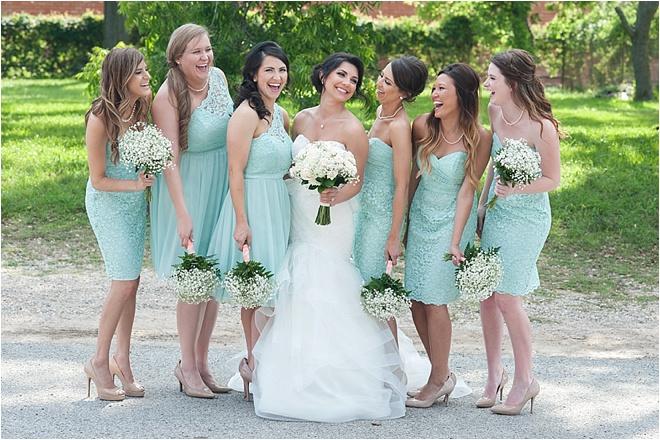 Mint-Bridesmaids-Dresses