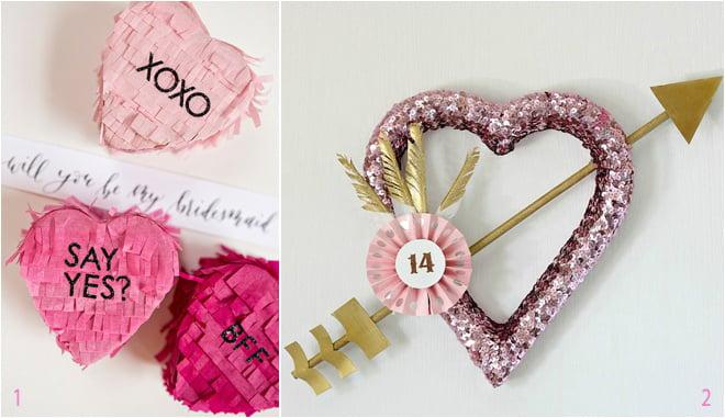 Valentine S Day Inspired Wedding Decor And Diys Houston Wedding Blog