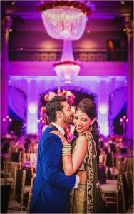 Lively Plum & Burgundy Hindu Wedding at The Corinthian