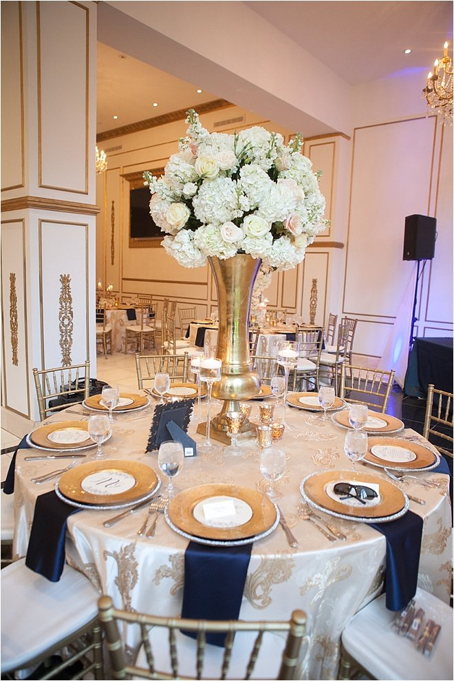 Ivory-Navy-and-Gold-Wedding-Reception