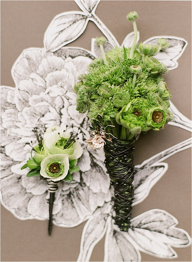 Green-Boutonnieres