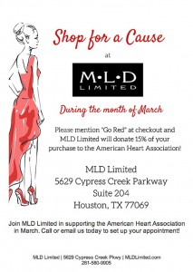 Shop for a Cause at MLD Limited This Month