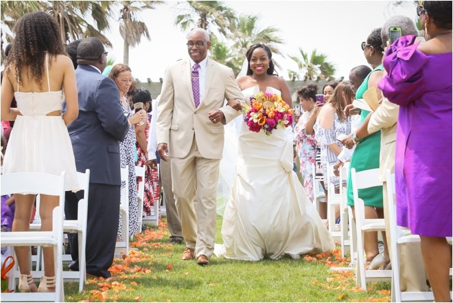 Bride-and-Father-Walking-Down-Aisle