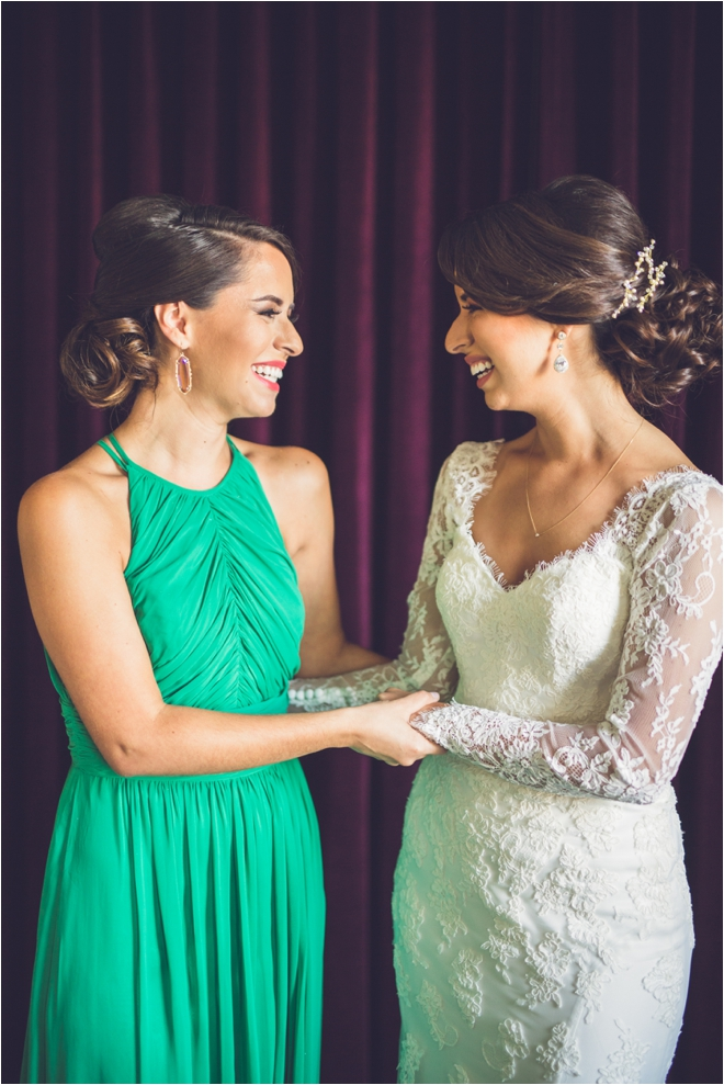 Bride-and-Bridesmaid