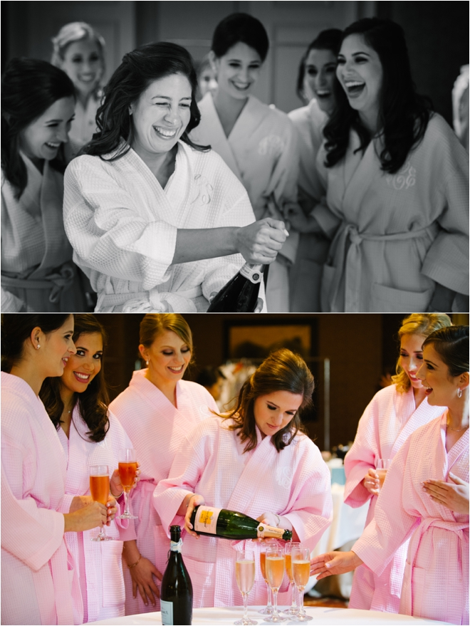 Bridesmaids-Drinking-Champagne