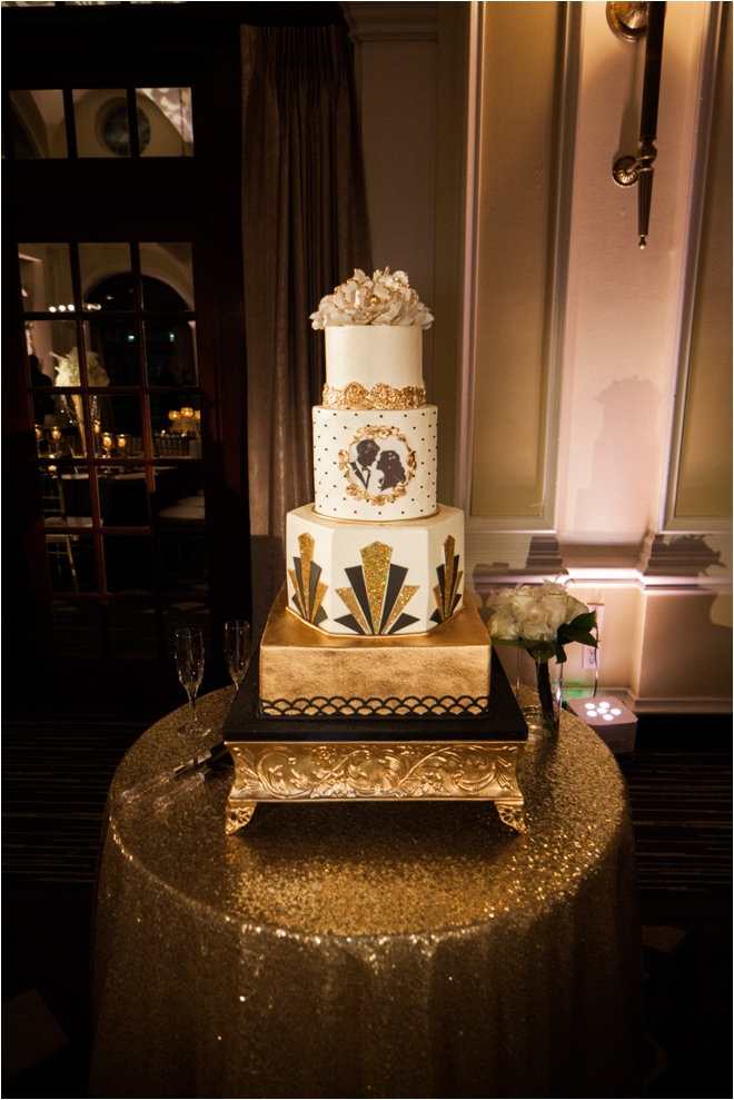 Art-Deco-Wedding-Cake