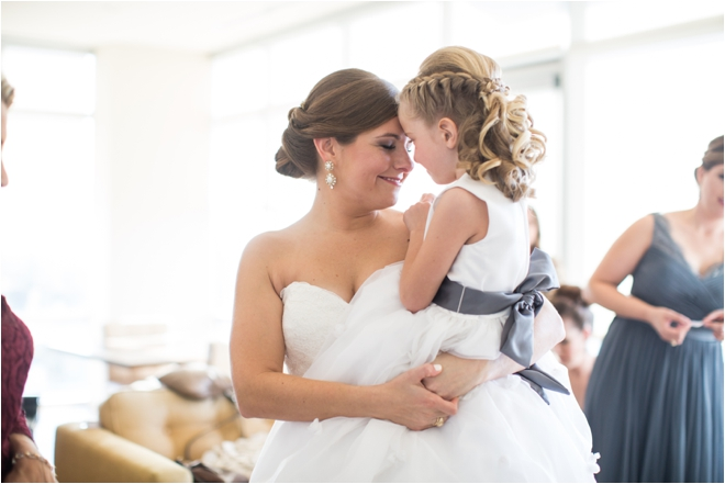 Bride-with-Flower-Girl