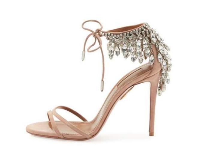 Aquazurra-Eden Crystal-Embellished Sandal